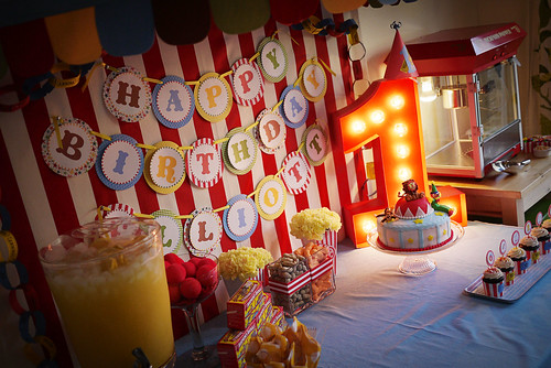 Elliott's Circus Birthday