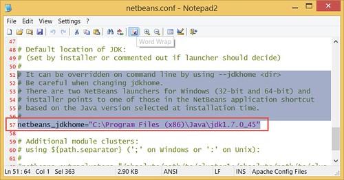 Netbeans.conf