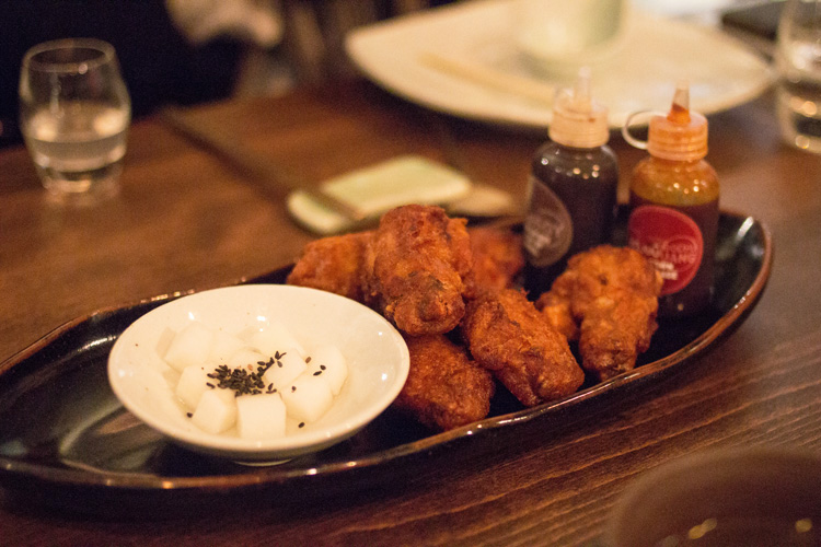 6. JinJuu Fried chicken wings