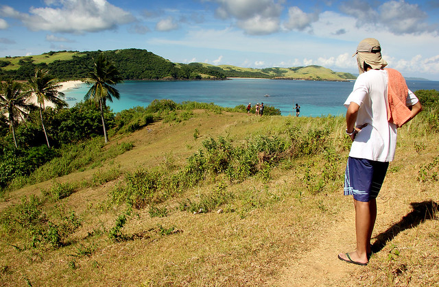 Calaguas Island higer view