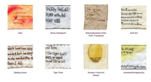 Iviva Olenick - EmbroideryPoems Assortment