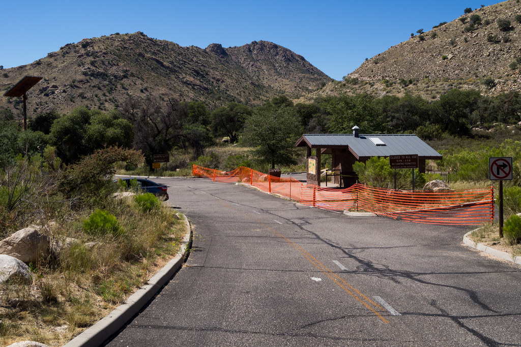 1310 Molino Basin Bathrooms and some parking closed