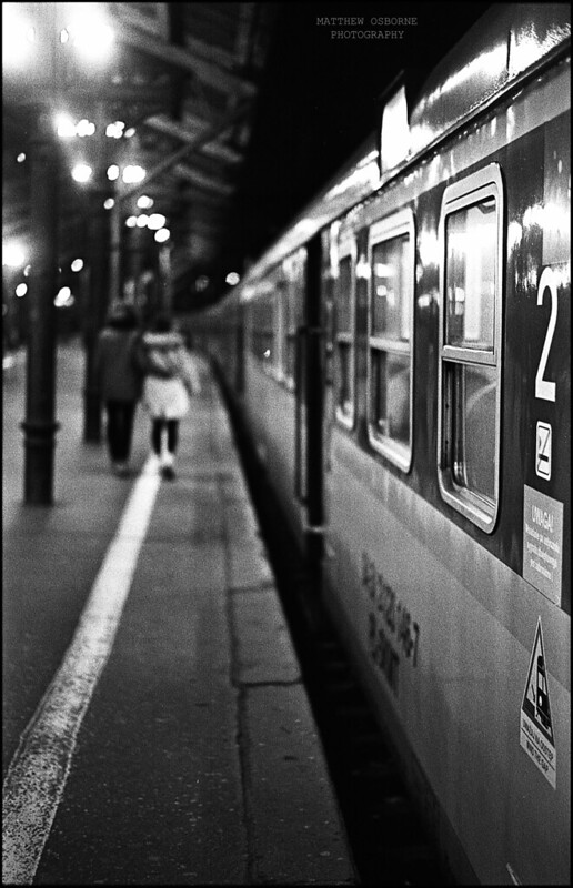 Night Street Photography - Film