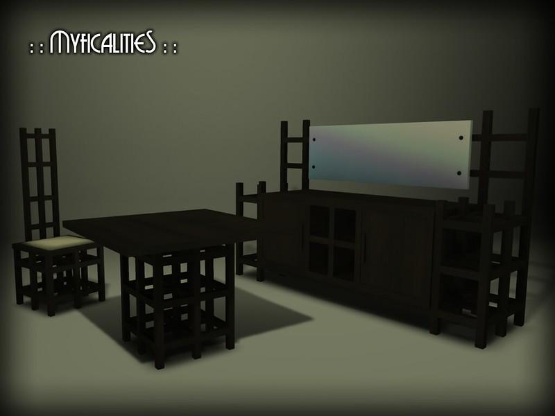 Mackintosh Dining Set