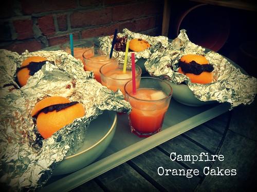Campfire Orange Cakes
