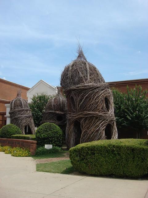 Patrick Dougherty Sculptures, Montgomery Museum of Art