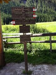 Talschluss Vals, Parkplatz 1
