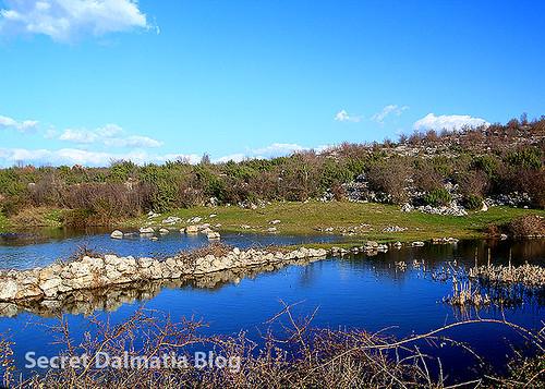 Pond next to Zvonik hill