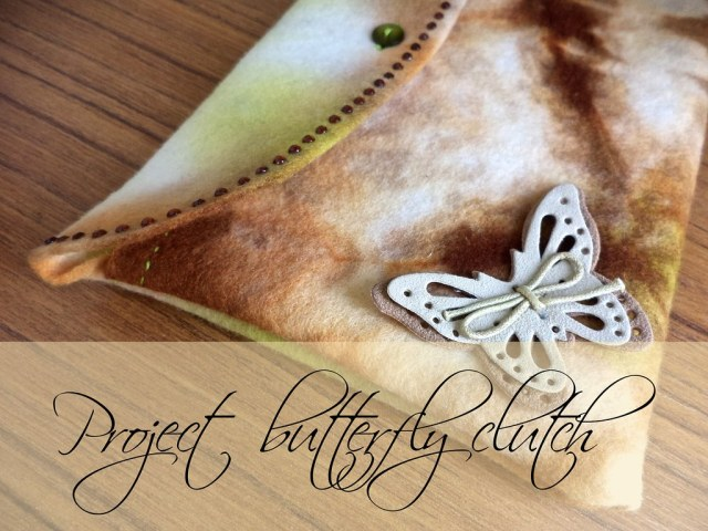The making of: Butterfly Clutch by Imladris Creative Studios on Etsy ~ CherryCharlie.nl