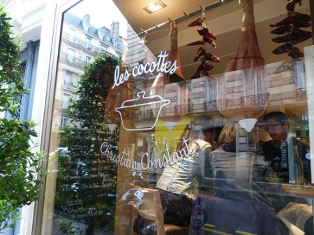 Les Cocottes, façade