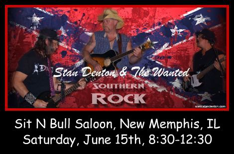 Stan Denton & The Wanted 6-15-13