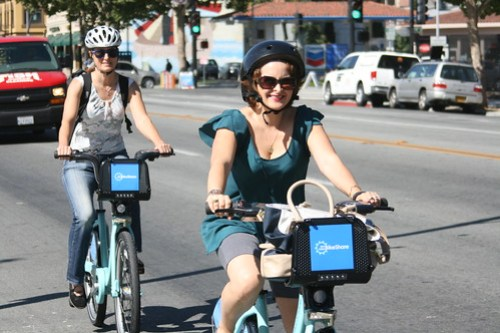 Bay Area Bike Share launch in San Jose CA
