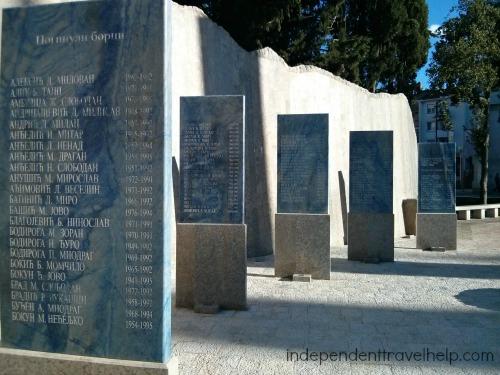 The Fallen Soldiers' Memorial, Trebinje