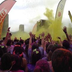 Colour Run: Starting