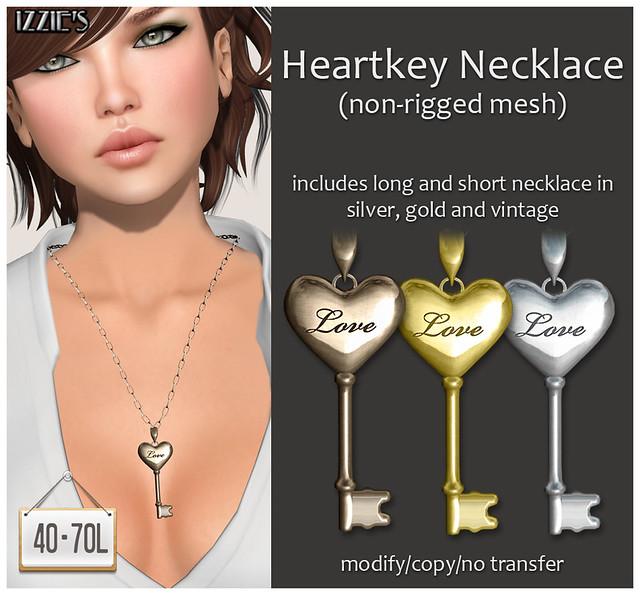 TDRF (Heartkey Necklace)