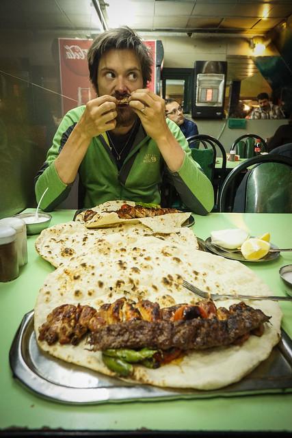 Celebratory kebab