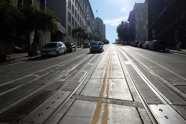 San Francisco steep street