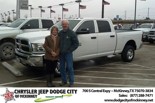 Dodge City McKinney Texas Customer Reviews and Testimonials-Tom and Janie Abell by Dodge City McKinney Texas