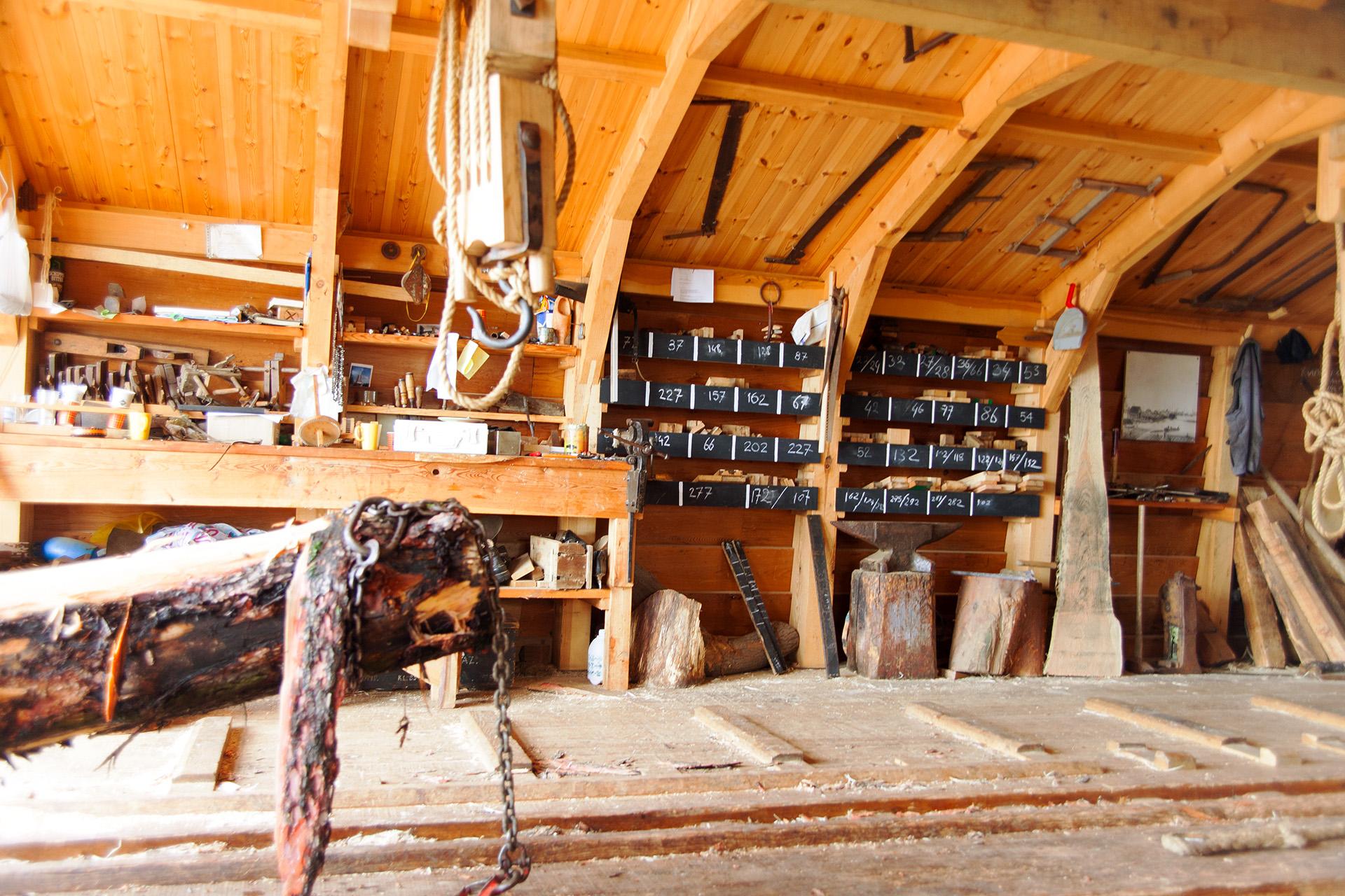 The lumber workshop, Zaandijk.