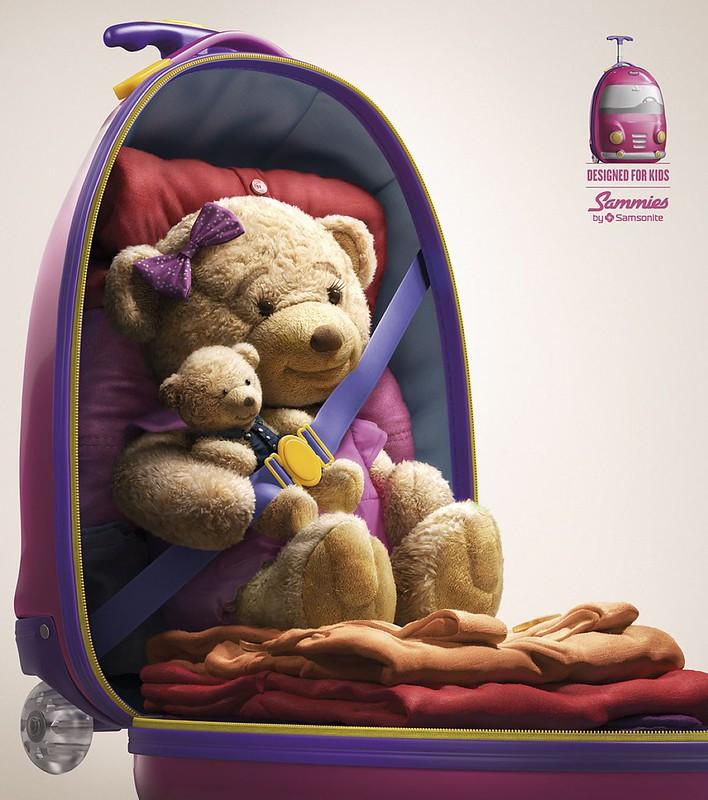 Samsonite Sammies - Teddy Bear