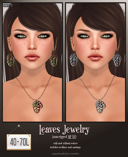 TDR Fusion (Leaves Jewelry)