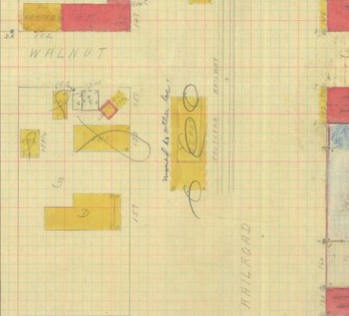Salley Depot Sanborn Map