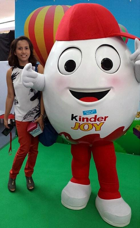 with Kinderoo at Kinder Joy launch Manila