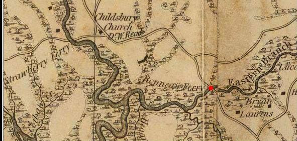 Bonneau Ferrry WMA Mills Atlas