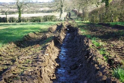 20120219-09_Muddy Ruts nr Manor Farm - Clifton Upon Dunsmore by gary.hadden