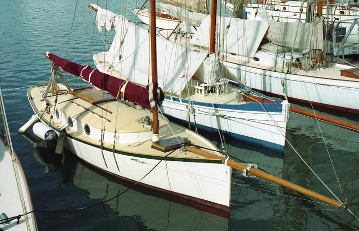 Little wooden boats