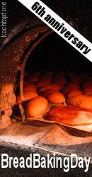 Bread Baking Day #60 - Glazed Bread for 6th anniversary / Brot mit Streiche zum 6. Geburtstag (last day of submission July 1st 2013)