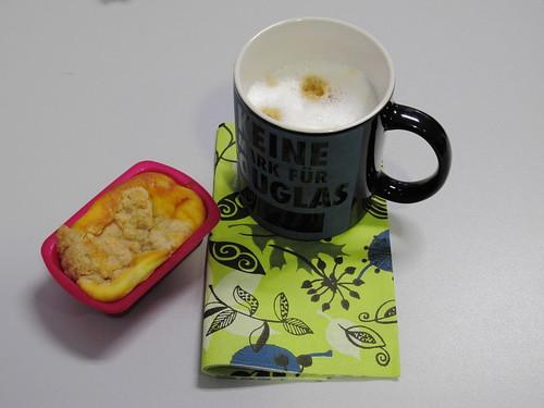 Mini-Käsekuchen zum Milchkaffee