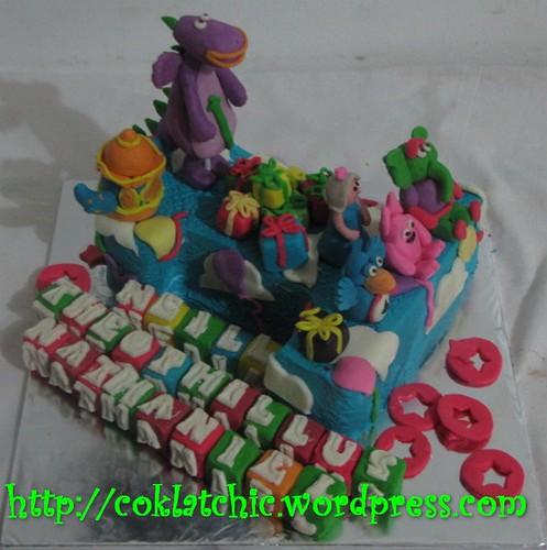 Cake Dibo dan Angka 1