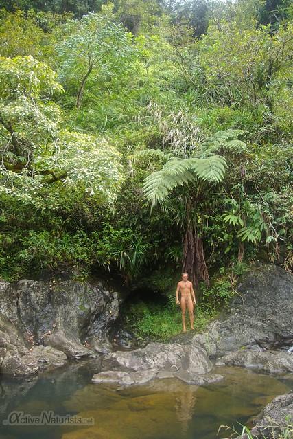 naturist 0001 Na'ili'ili-haele, Maui, Hawaii, USA