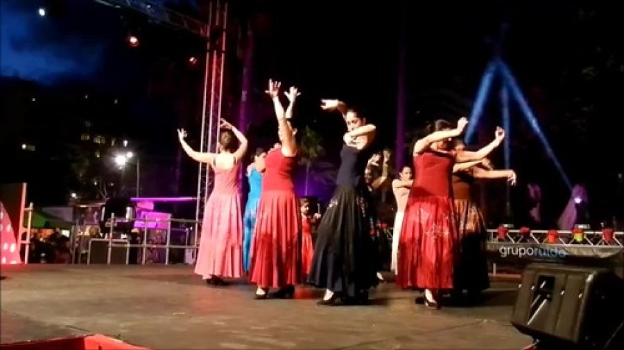 VII Feria Abril Las Palmas Gala Apertura Coca Navarro video 04