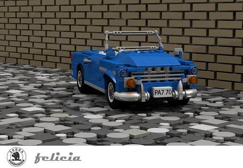 Skoda Felicia - 1959 - Czechoslovakia