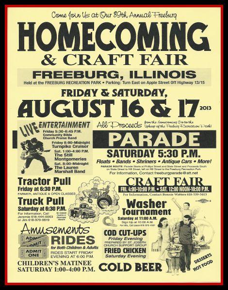 Freeburg Homecoming 2013