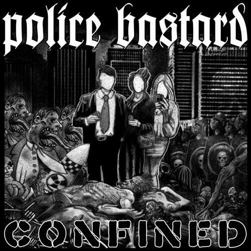 Police Bastard - Confined CD Front Cover