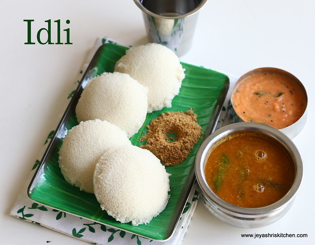 Idli - using-idli rava