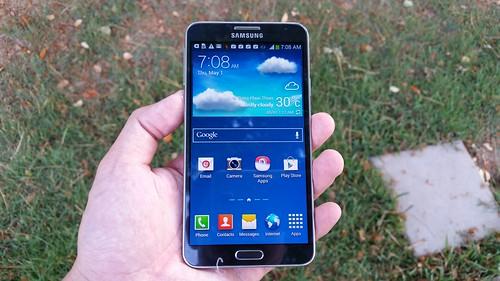 Samsung Galaxy Note 3 Neo ด้านหน้า
