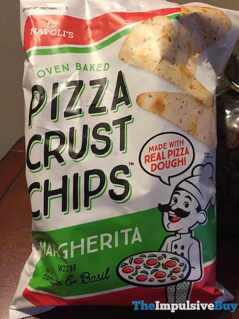 Napoli's Margherita Pizza Crust Chips