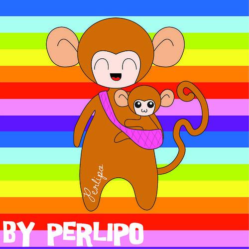 Babywearing animals