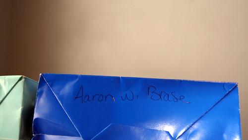 99/365 - Aaron's Memorial Bag