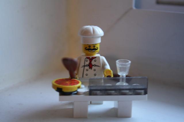 Lego Pizza Man