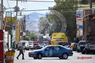 Alumbrado público en la calle de Pedro Moreno