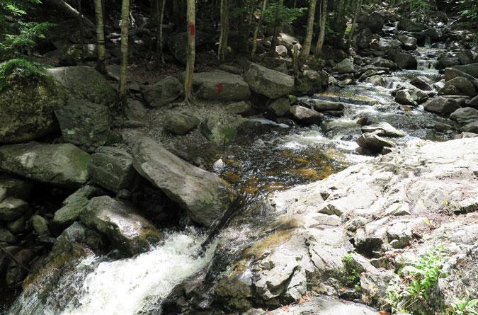 Angel Falls Trail Brook Crossing-1