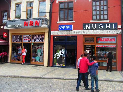 Prizren, Upscale Stores