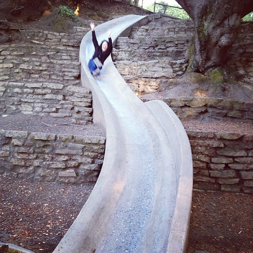 Concrete slide at Cordonices!