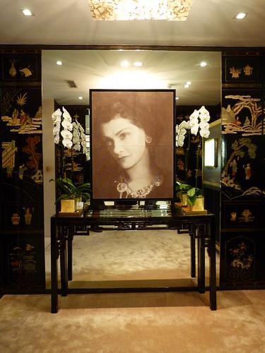 Chanel jewelry boutique, Paris