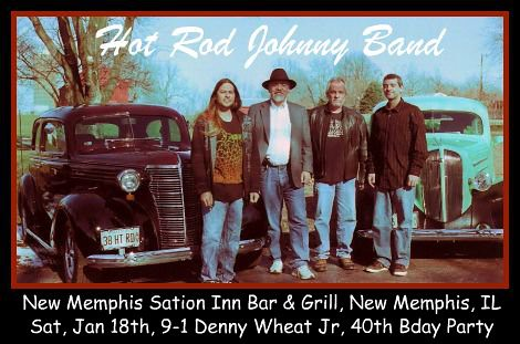 The Hot Rod Johnny Band 1-18-14